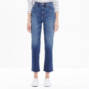 Madewell Kick Out Crop Jeans Size 29